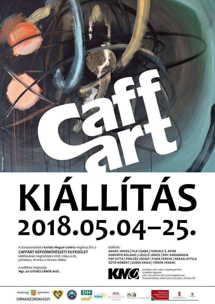 Caffart csoportos kiállítás Rékasi Attila részvételével - Dunaszerdahely