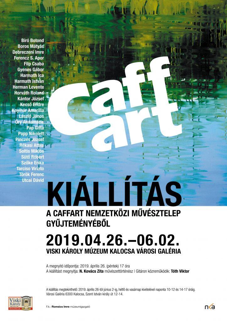 Caffart csoportos kiállítás Rékasi Attila részvételével - Kalocsa