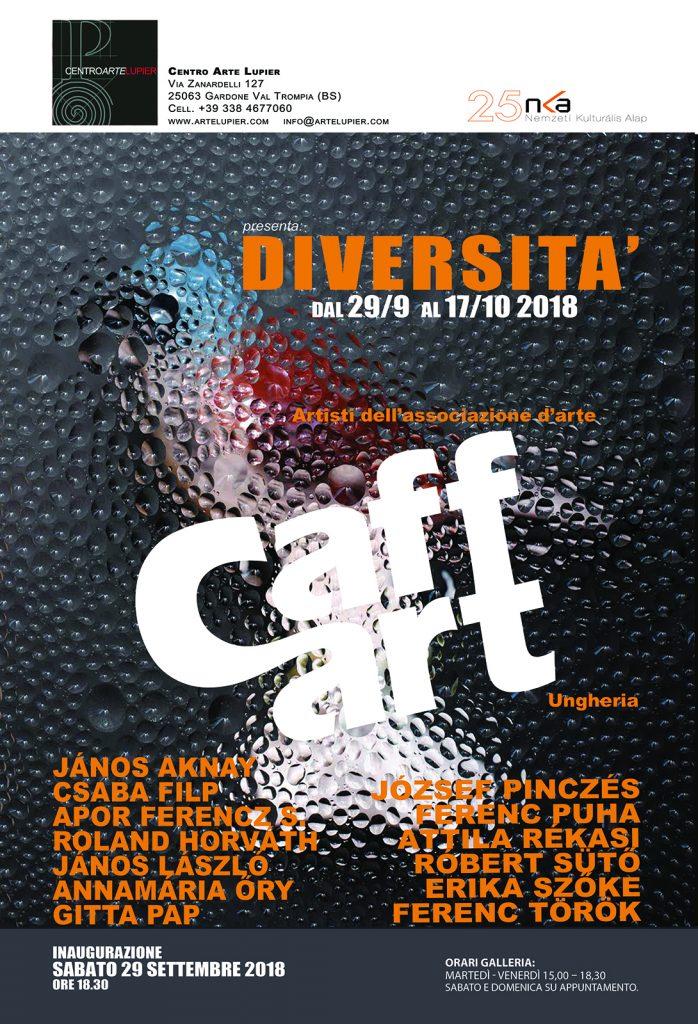 Caffart csoportos kiállítás Rékasi Attila részvételével - Olaszország