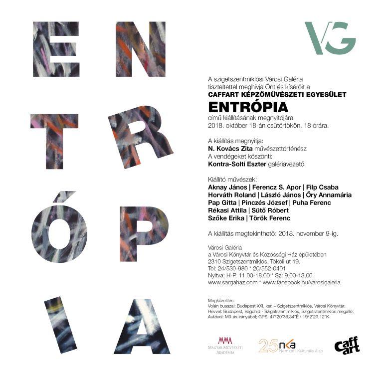 Caffart csoportos kiállítás Rékasi Attila részvételével - Szigetszentmiklós