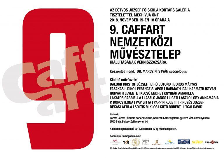 Caffart csoportos kiállítás Rékasi Attila részvételével - Baja
